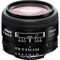 Nikon f AF D Super Wide Angle Auto Focus Lens 113 - 206