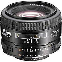 Nikon f AF D Normal Auto Focus Lens 42 - 523