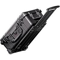 Pelican Carry On Watertight Hard Case without Foam Insert Wheels Charcoal 346 - 152