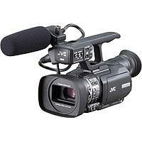 JVC GY HMU ProHD Compact Hand held CCD Camcorder Optical Image StabilizationSDHC Memory Card Slots H 67 - 311