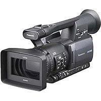 Panasonic AG HMC Professional CCD Handheld AVCCAM Camcorder Hours 132 - 7
