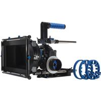 Redrock Micro DSLR Cinema Bundle Kit Blue MatteboKnob microSupport Baseplate High Riser and microCag 67 - 511