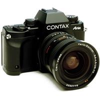 CONTAX ARIA MANUAL FOCUS SLR BODY Meter mode selection switch jammed Cosmetic condition E  5 - 97