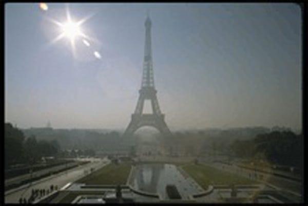 埃菲尔铁塔的城市