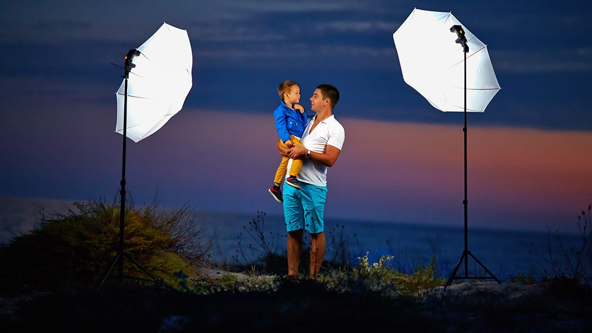 simple portable lighting on location expert photography blogs tip