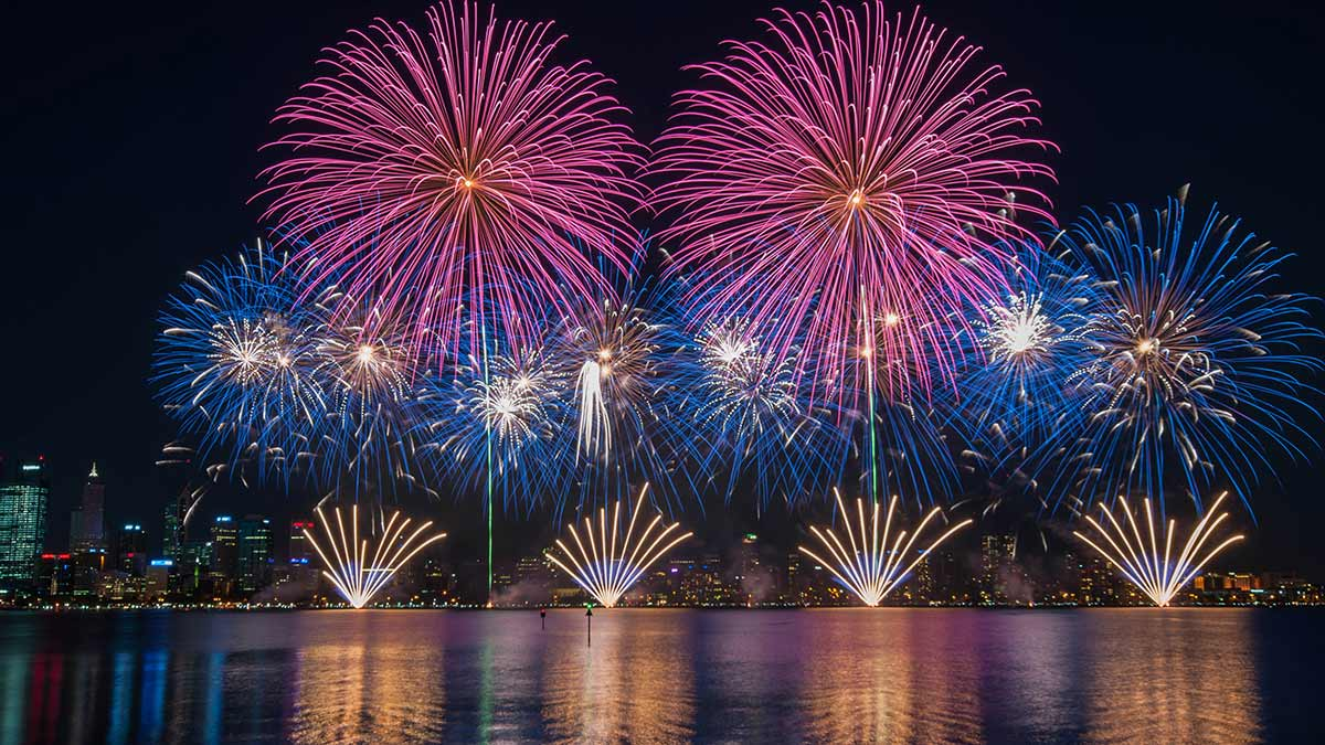 Amazing multiple fireworks photos…with a little help from
