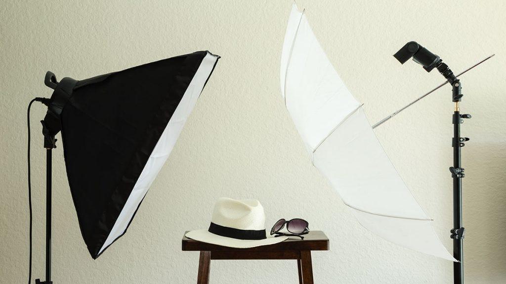CHIMAERA 32 Umbrella Photo Lighting Continuous 2 Lights Kit