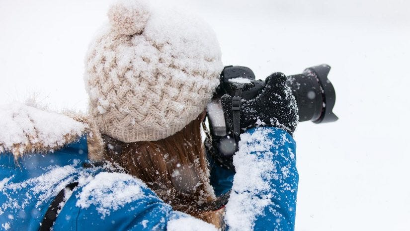 df61ed5e9 Winter photography tips  Protect your gear in extreme cold