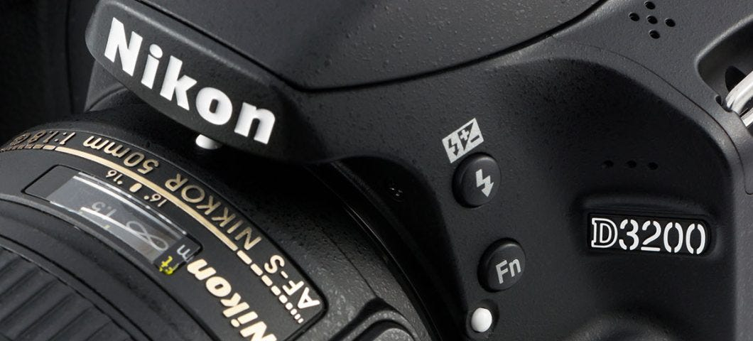 Nikon D3200 Beginner DSLR Guided Tour