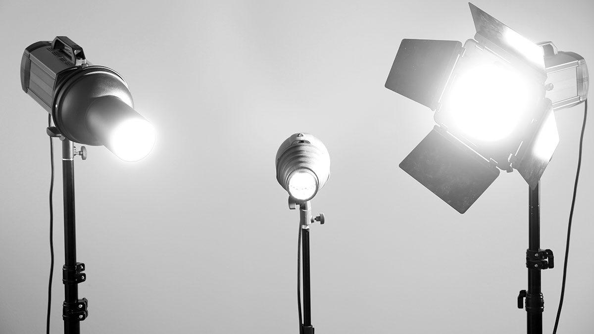 studio lights gray background & Flashpoint Unveils Budget Studio Lights For Under $100 | Expert ... azcodes.com