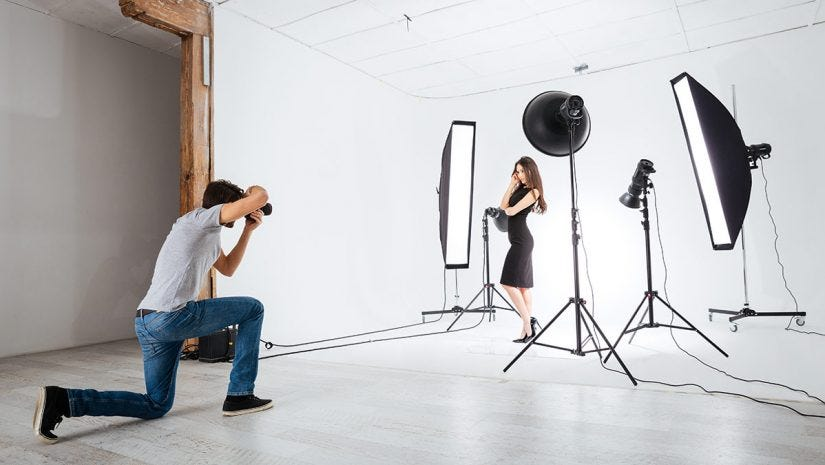 Continuous or strobe lighting expert photography blogs tip photographer model studio lighting aloadofball Gallery