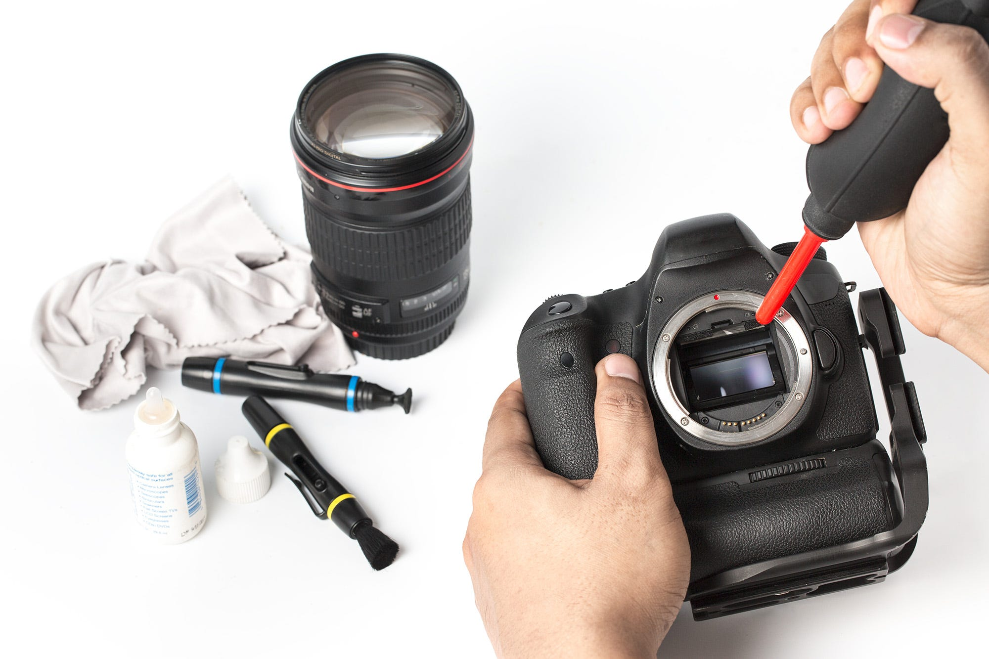 The Secret Of Effectively And Safely Cleaning Your Digital Camera Kit 7 In 1 Nikon Sensor