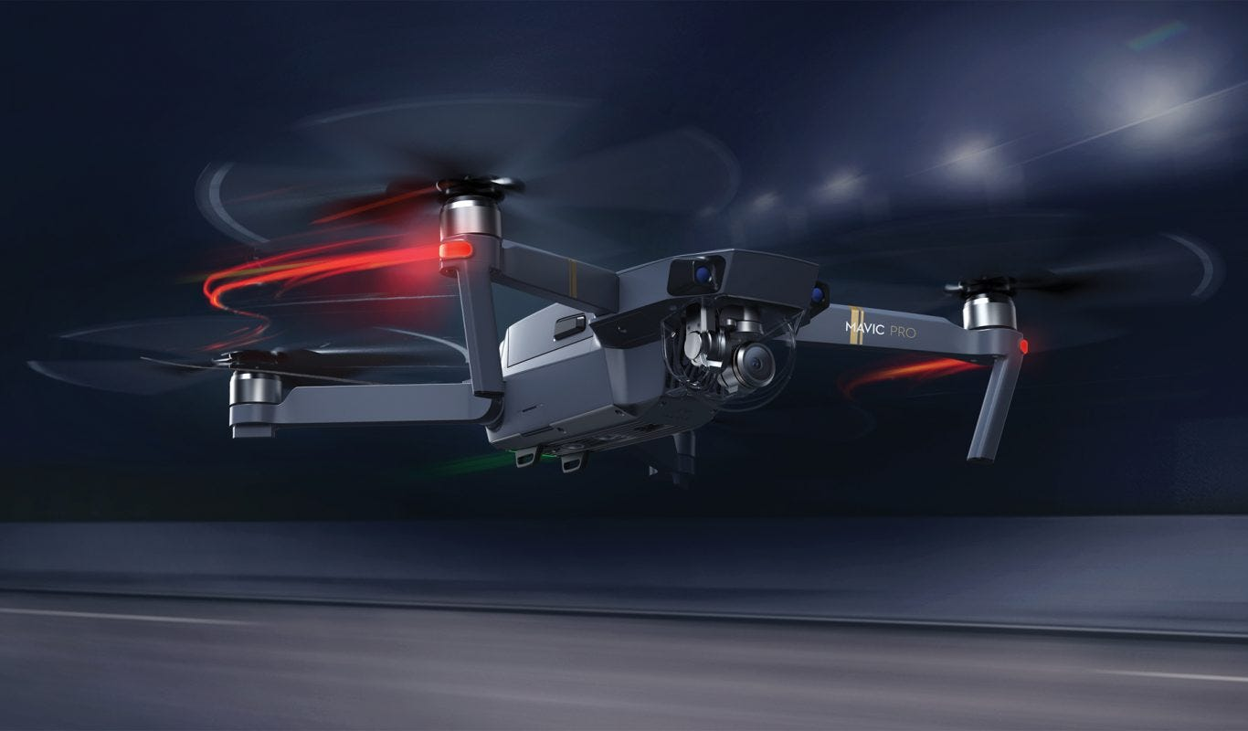 dji introduces mavic pro: foldable and portable drone with 4k