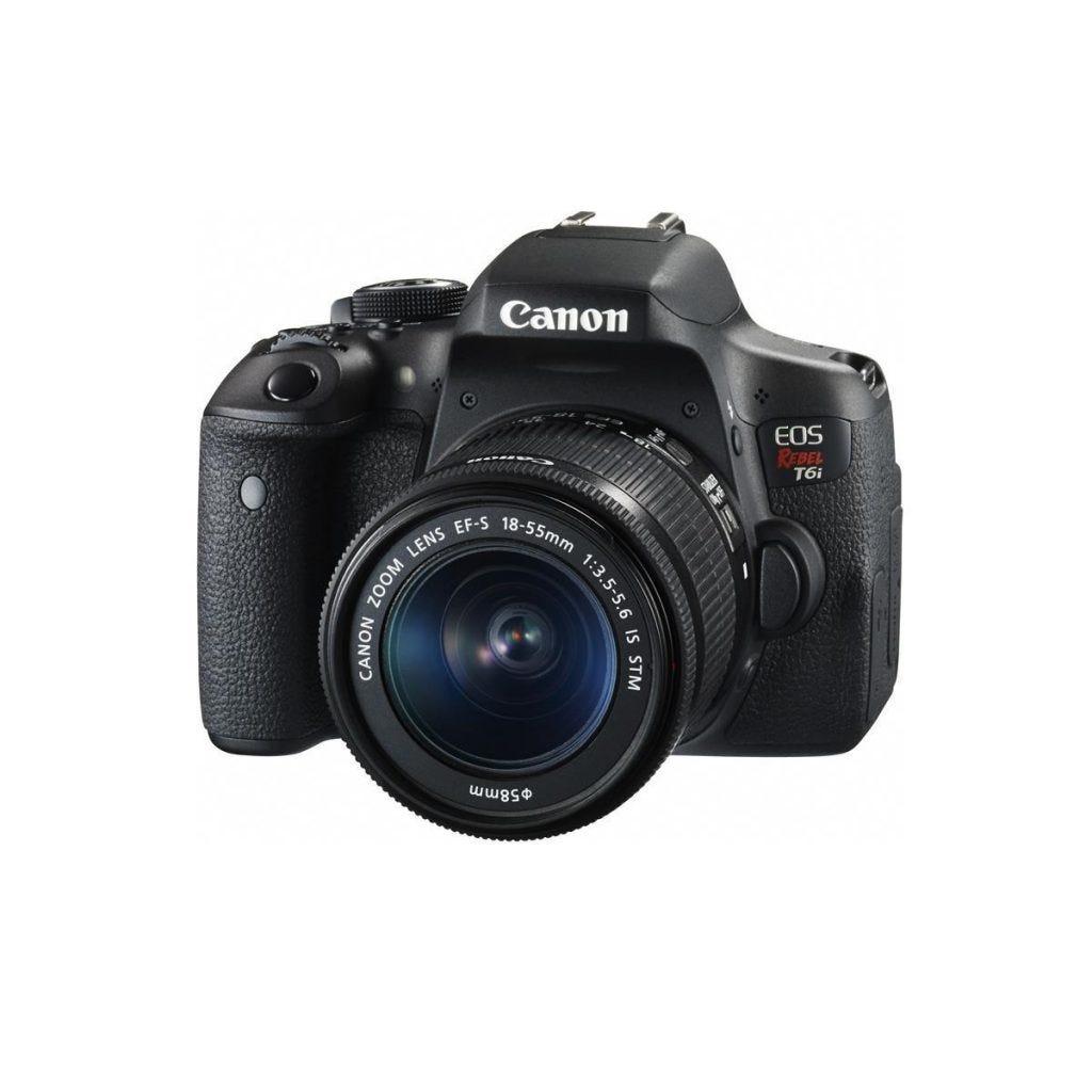 Canon Rebel T6i best entry level dslr for video