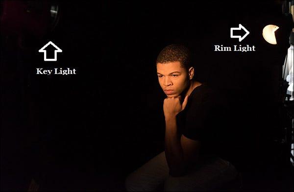 10-low-key-setup  sc 1 st  Adorama & From Light to Dark: High-Key and Low-Key Lighting in Portrait ...