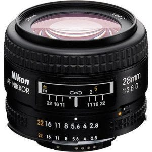 Nikon 28mm f/2.8D best camera lenses