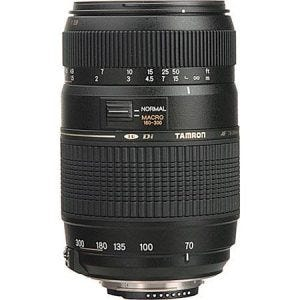Tamron 70-300mm f/4-5.6 Di LD best camera lenses