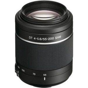 Sony 55-200mm f/4-5.6 DT best camera lenses