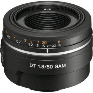 Sony 50mm f/1.8 DT best camera lenses