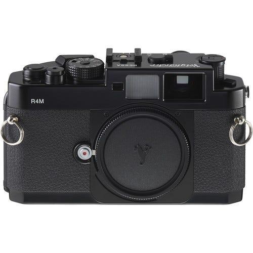Voigtlander Bessa R4M rangefinder 35mm film camera