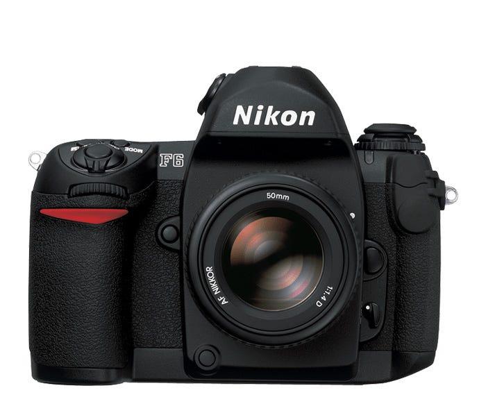 Nikon F6 SLR 35mm film camera