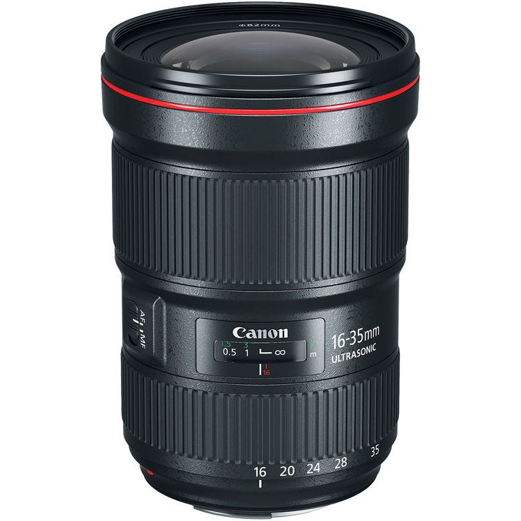 Canon Ef 16 35mm F 2 8l Iii Usm Ultra Wide Angle Lens