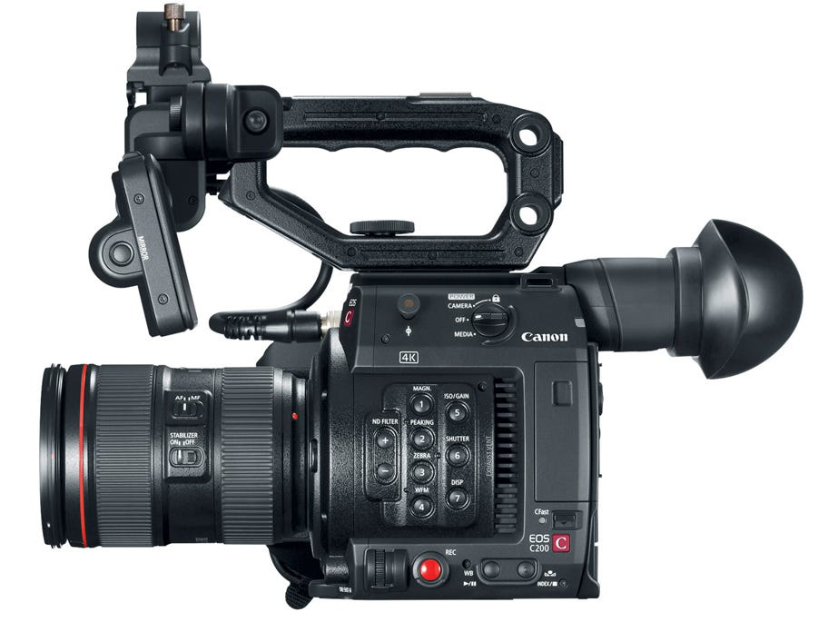 Canon C200 4K Cinema Camera Targets Mid-Range Video Pros - Adorama