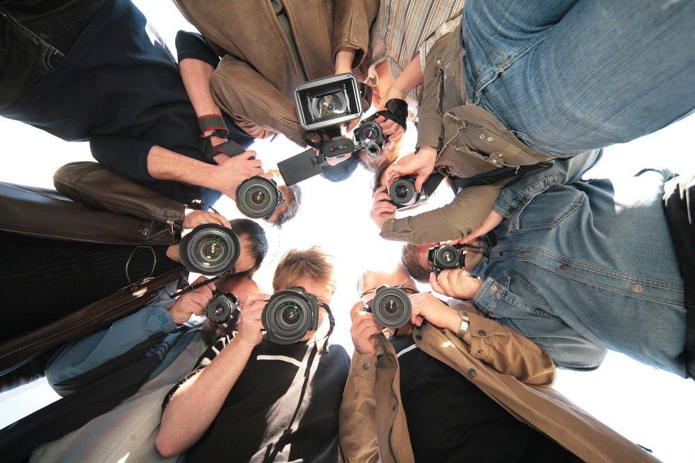 Équipe de photographes