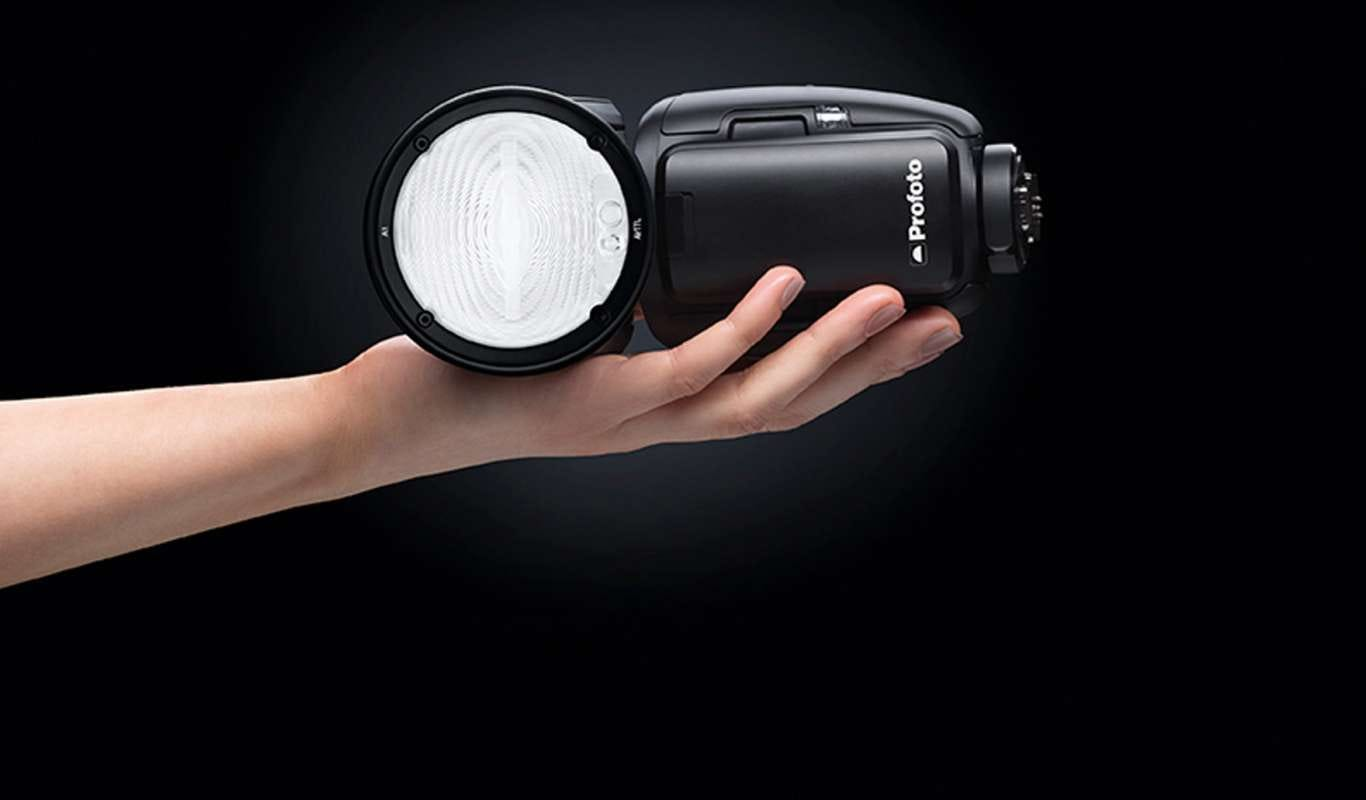 hand lighting. Profoto A1: Studio Lighting In The Palm Of Your Hand