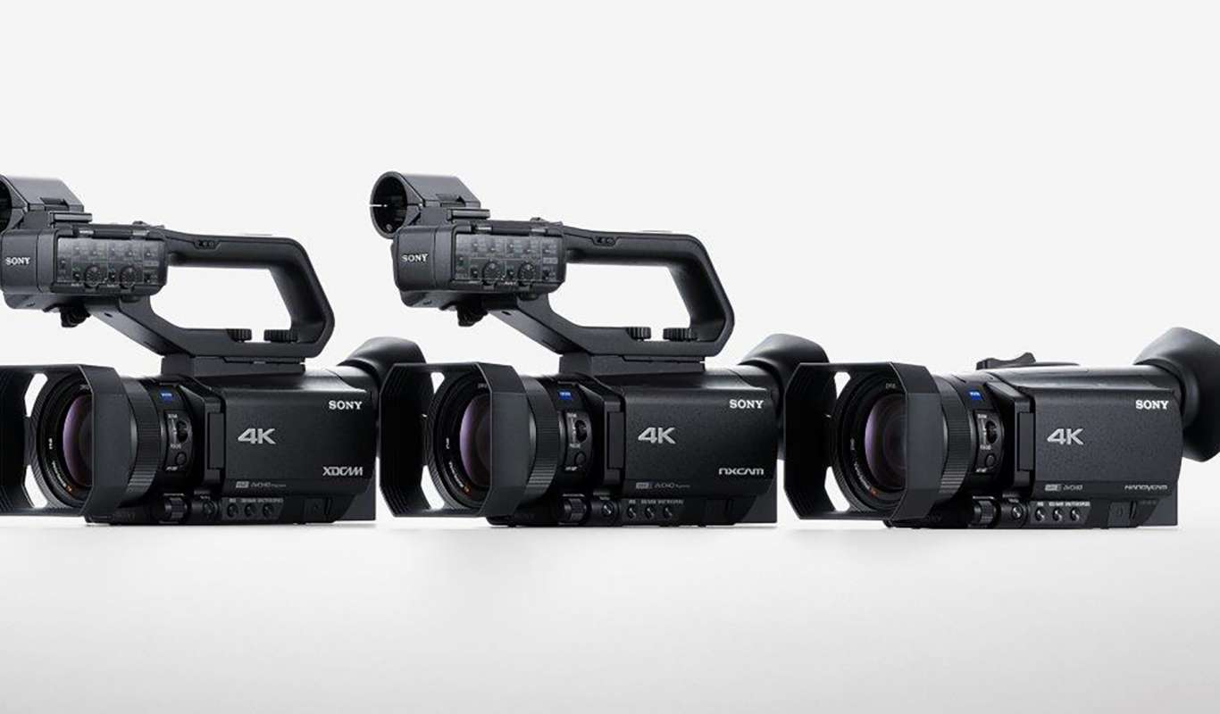 New Sony Camcorder Trio For Pros, Enthusiasts Boasts Faster AF, 4K ...