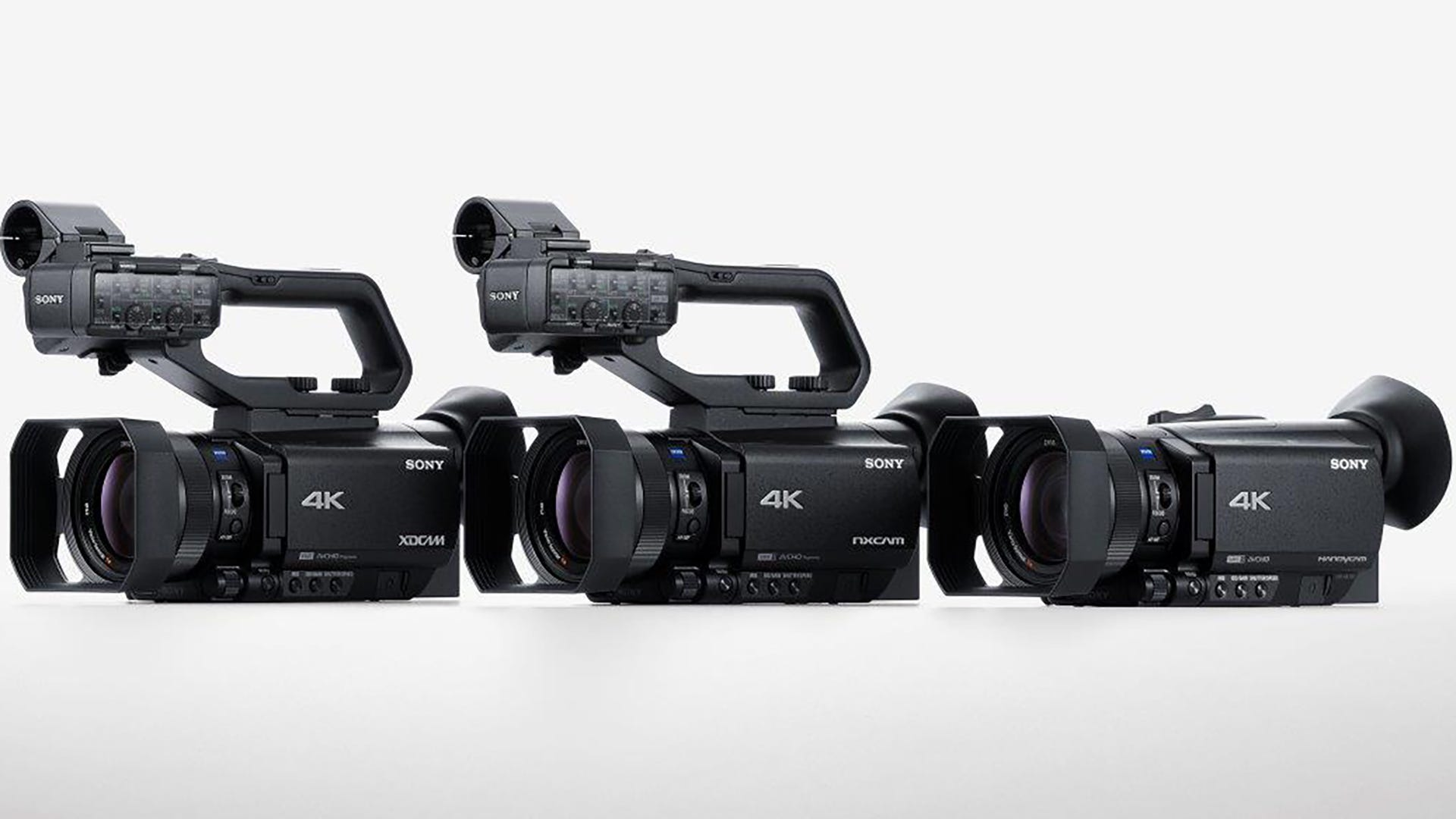 sony camcorder. new sony camcorder trio for pros, enthusiasts boasts faster af, 4k video