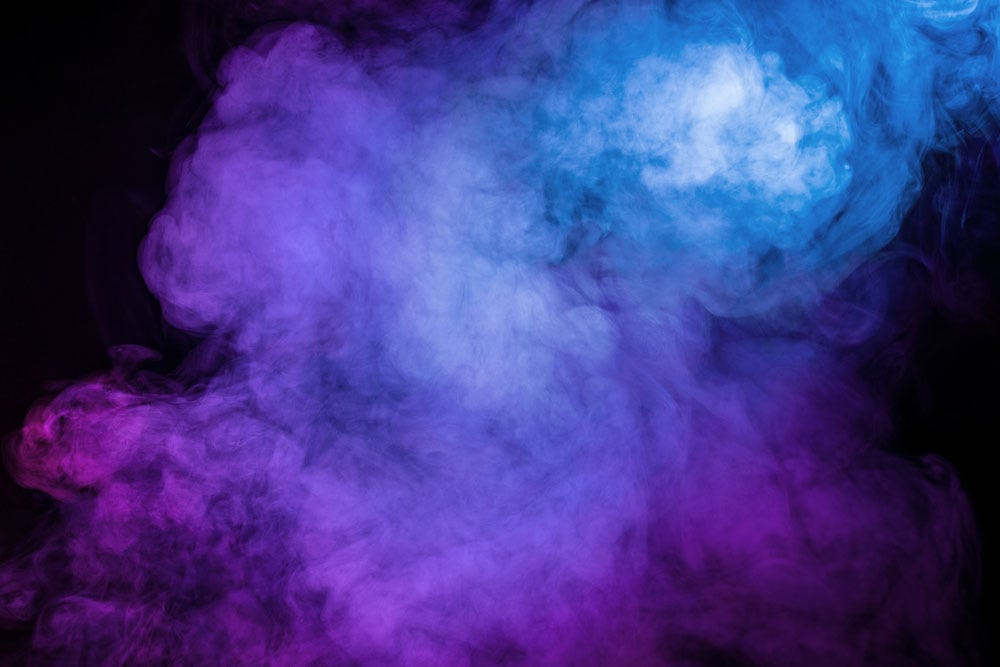 colored smoke abstract photography