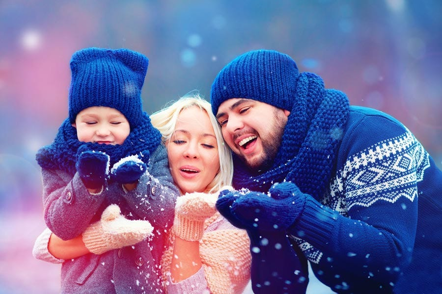 23 Creative Ideas For Your Family Holiday Card Adorama Learning Center