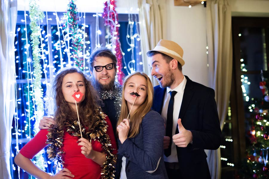 Diy Photo Booth How To Make A Photo Booth For Holiday