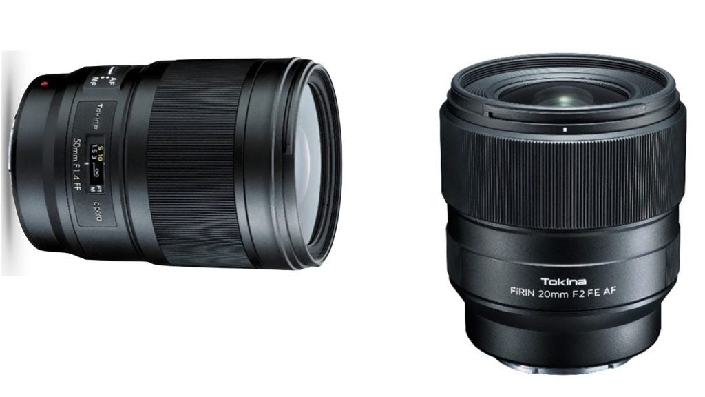Tokina Displays 20mm f/2, 50mm f/1 4 New Generation of Prime