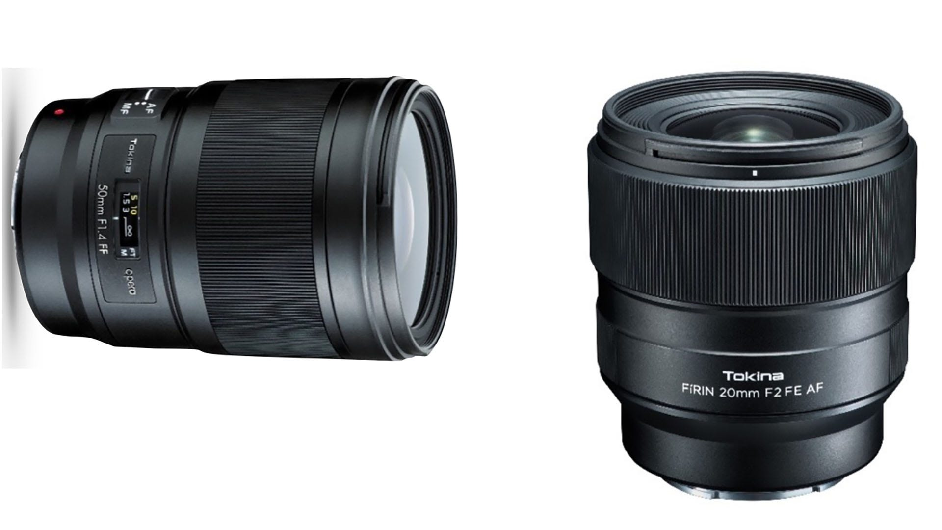 Tokina Displays 20mm f/2, 50mm f/1.4 New Generation of Prime Pro ...
