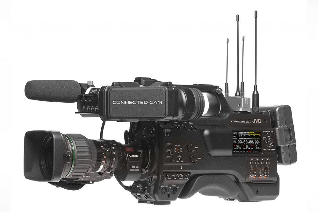 NAB 2018: JVC Unveils New 'Connected CAM' Broadcast