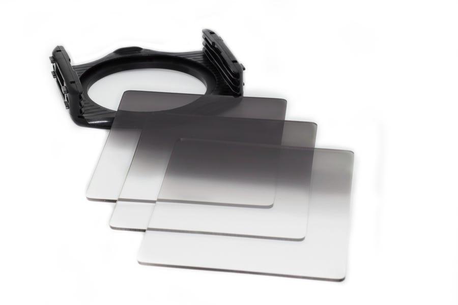filtros graduados de lentes de cámara de densidad neutra