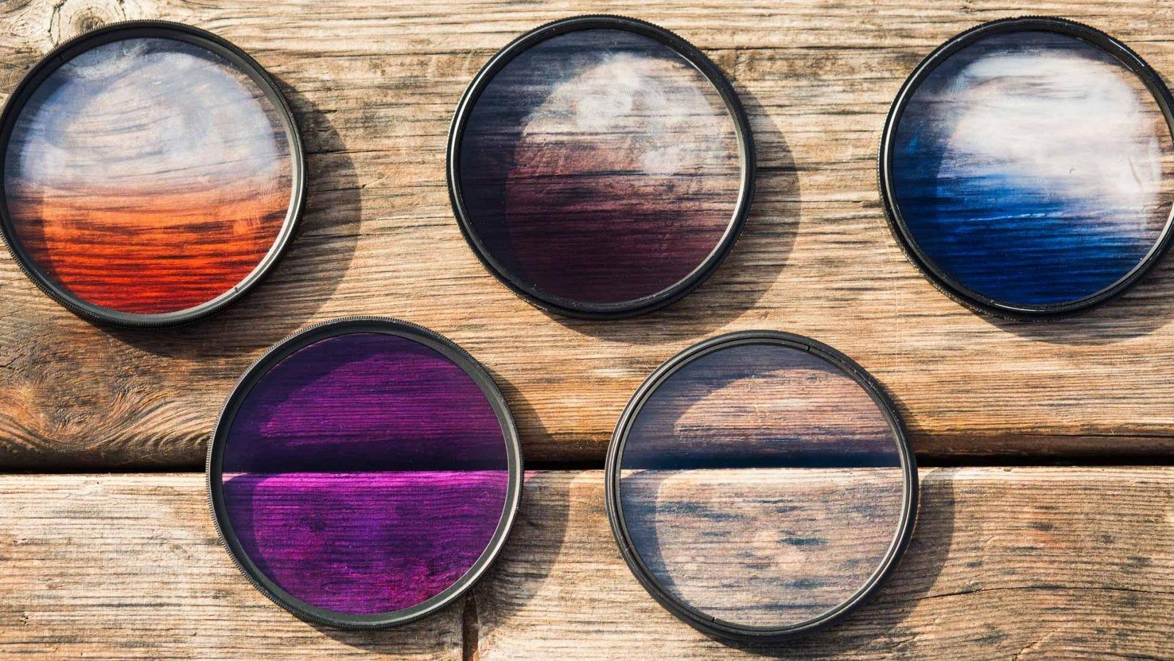filtros de lente de cámara