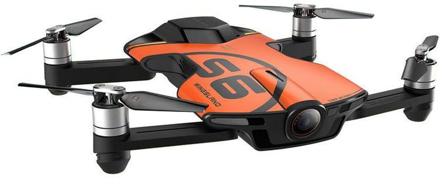 dark orange Wingsland S6 side view