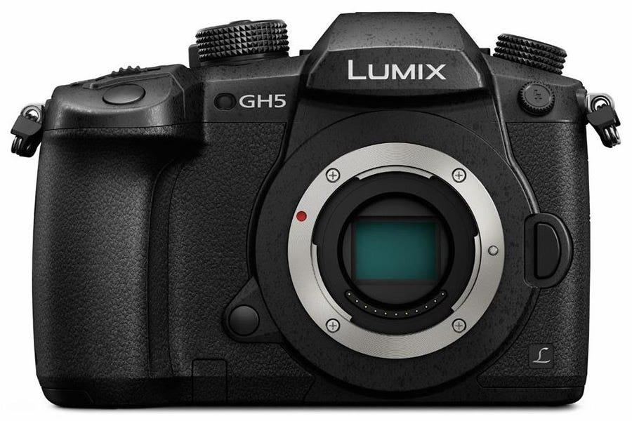Panasonic Lumix GH5 without lens