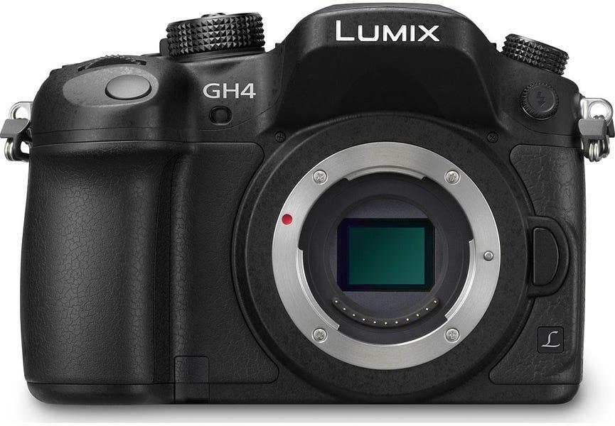 Panasonic Lumix GH4 without lens