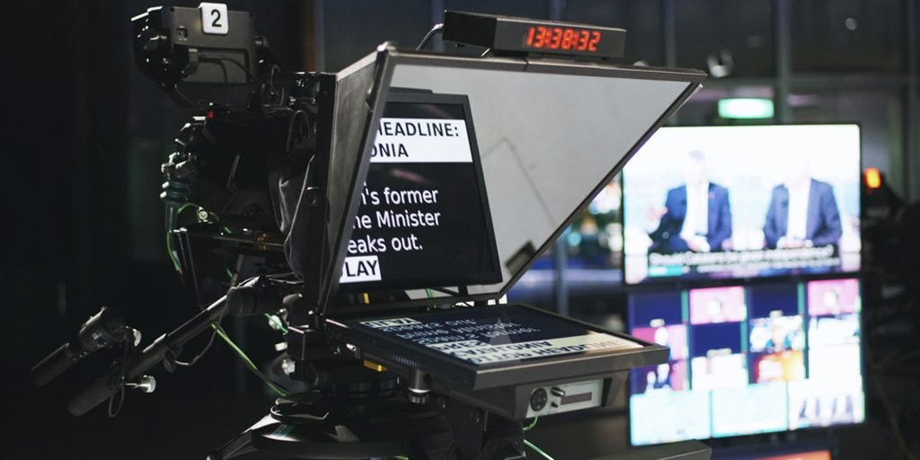 How Teleprompters Work