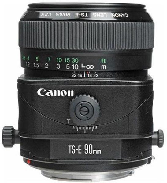 Canon TS-E 90mm f/2.8 Tilt-Shift Manual Focus best lens for food photography