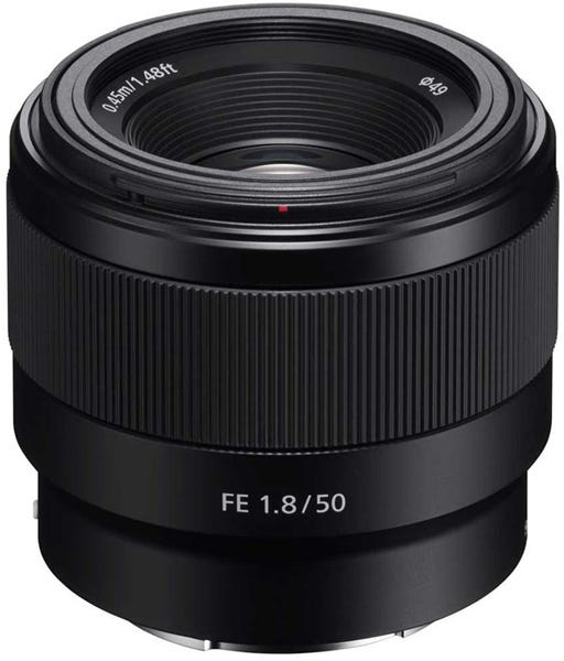 Sony FE 50mm F/1.8 Lens best food photography lens