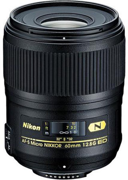 Nikon 60mm f/2.8G AF-S Micro NIKKOR AF ED best lens for food photography