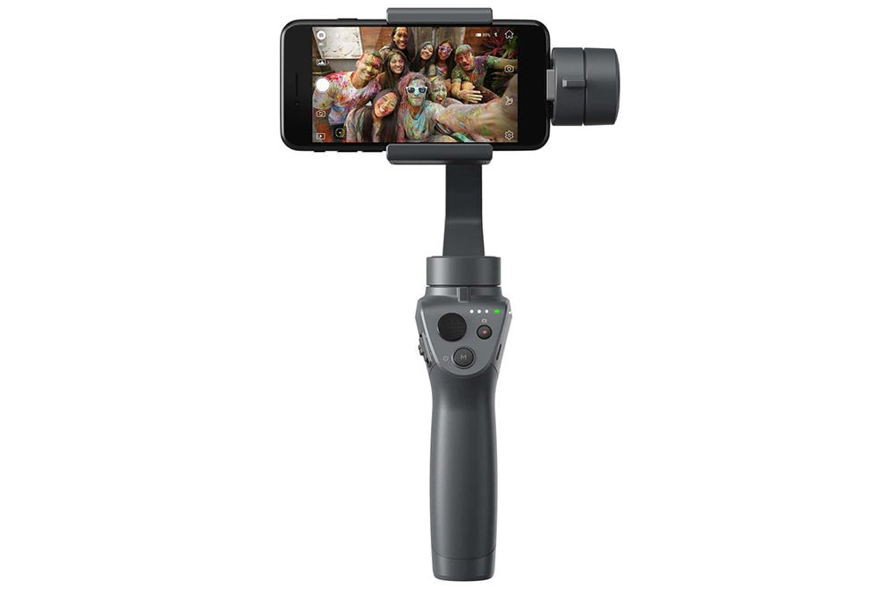 DJI Osmo Mobile 2 Handheld Smartphone Gimbal  - djiosmo2 - 2018 Back-to-School Buying Guide: The Gadgets Every Student Needs