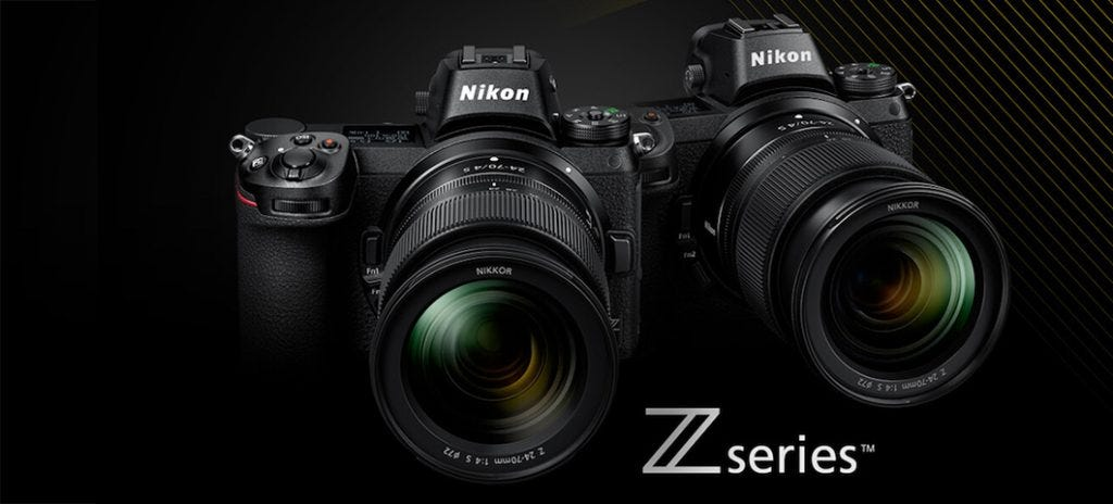 Nikon Unveils New Z6 and Z7 Full-Frame Mirrorless Cameras