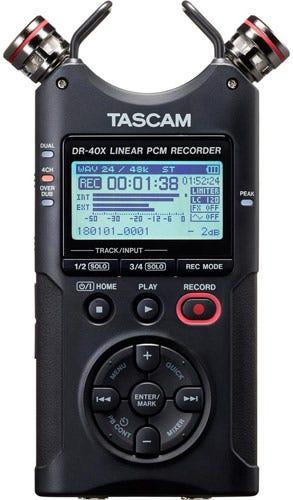 Tascam DR-40X Best Audio Recorder