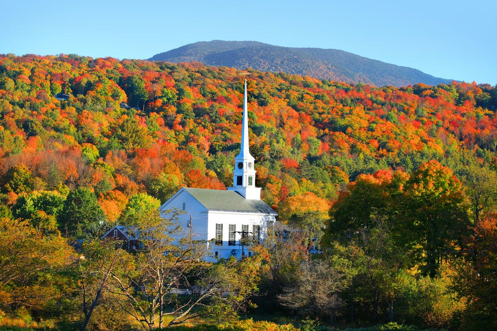 The Green Mountains, Vermont